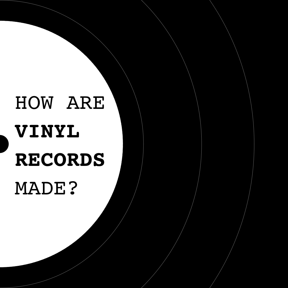 Blog - How Are Vinyl Records Made - Cover - 1000x