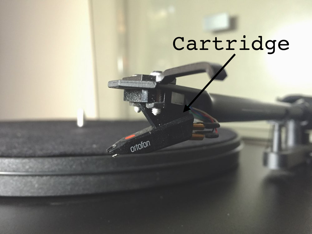 Record Player's Cartridge