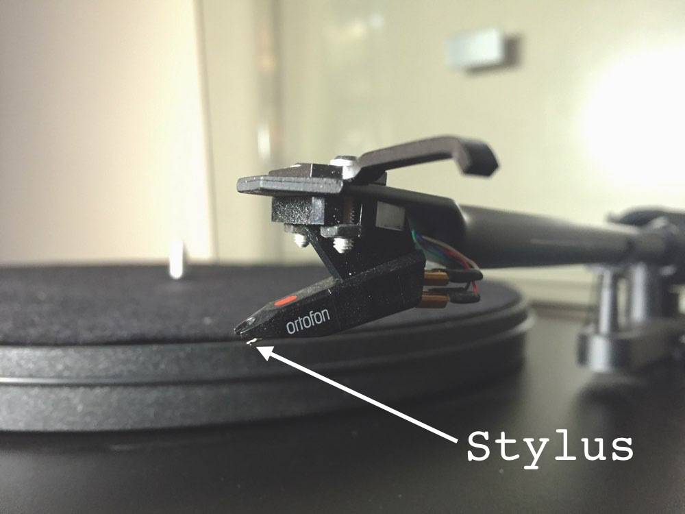 Record Player's Stylus