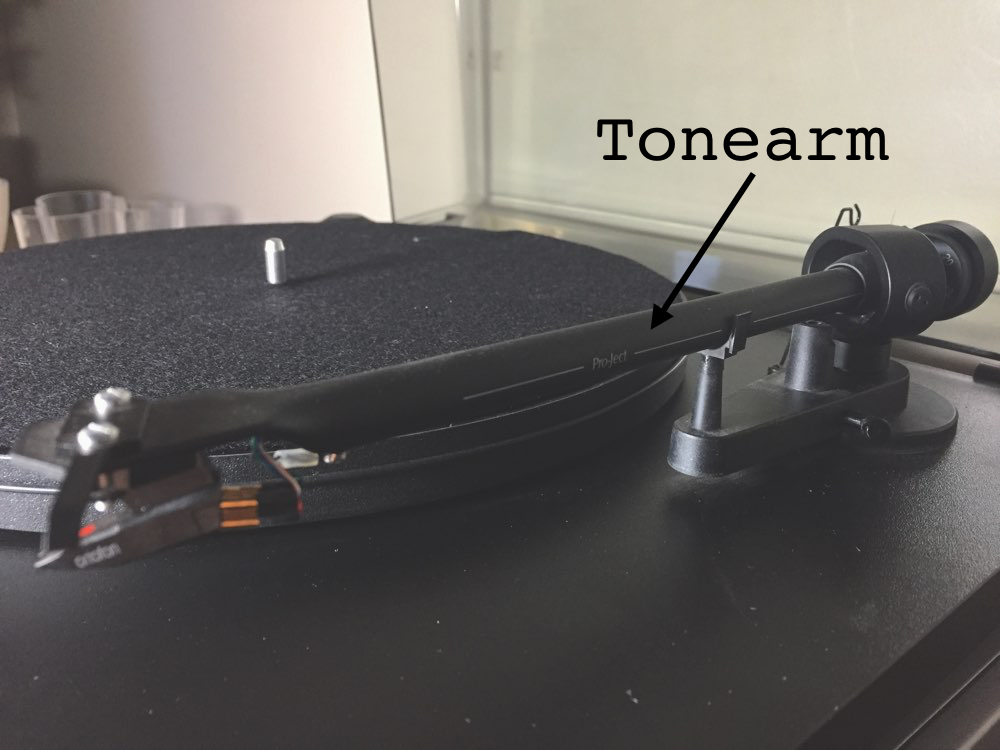 Record Player's Tonearm