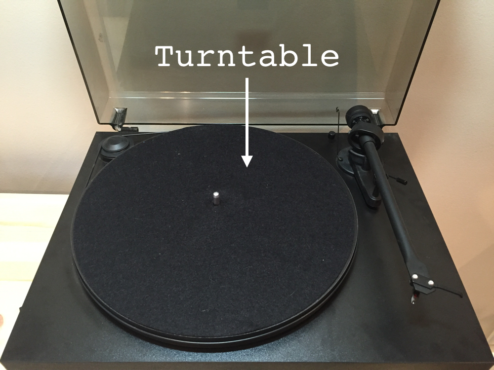 Record Player's Turntable