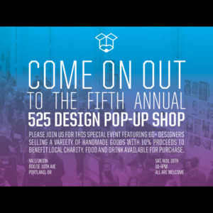 525 Design Pop-Up Shop Saturday Icon