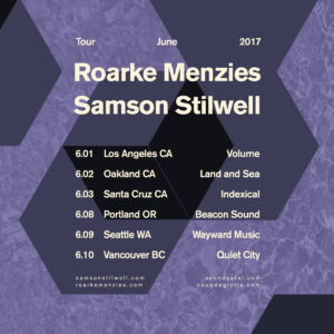 Samson Stilwell Roarke Menzies Tour 2017