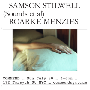 Samson Stilwell at Commend NYC