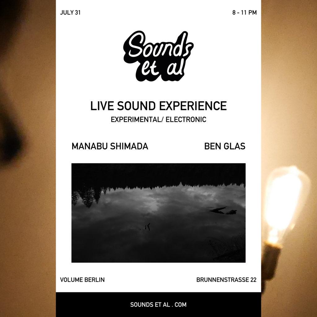 manabu shimada & Ben Glas live sound experience