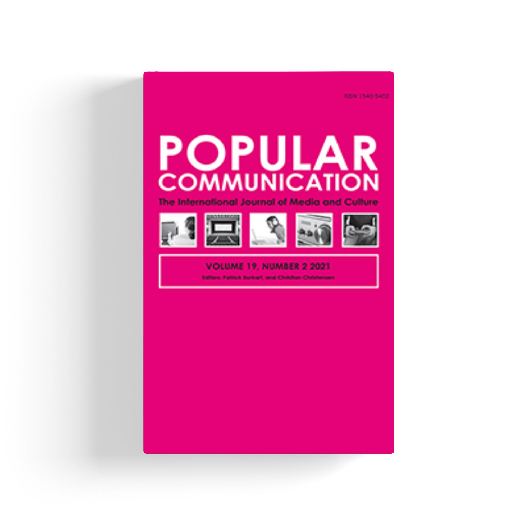 Popular Communication cover